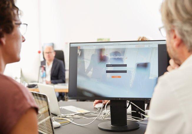 Digitale Bildverwaltung mit einer Software zur Bildarchivierung